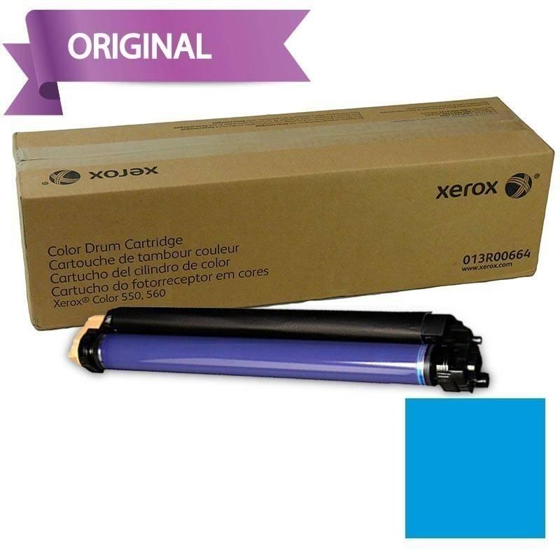 Xerox Cartucho de Cilindro Tambor Cyan/Cian Docucolor 560 013R00664