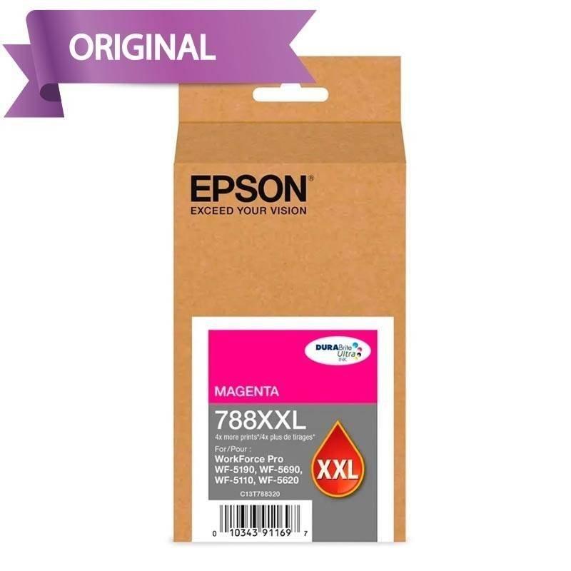 EPSON Workforce Pro 5190 / 5690 / 5110 / 5620 Cartucho de Tinta Negro T788XX L120-AL 4,000 pág.
