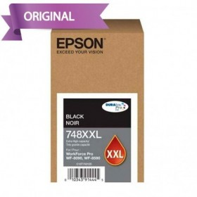 EPSON Workforce Pro 6590 / 8090 / 8590 Cartucho de Tinta Negro T748XXL120-AL 10,000 pág.