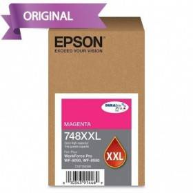 EPSON Workforce Pro 6590 / 8090 / 8590 Cartucho de Tinta Magenta T748XXL320-AL 10,000 pág.