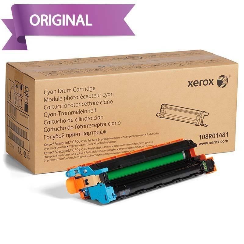 Xerox Versalink C500 y C505 Cartucho de Tambor Cyan 108R01481 40,000 pag.