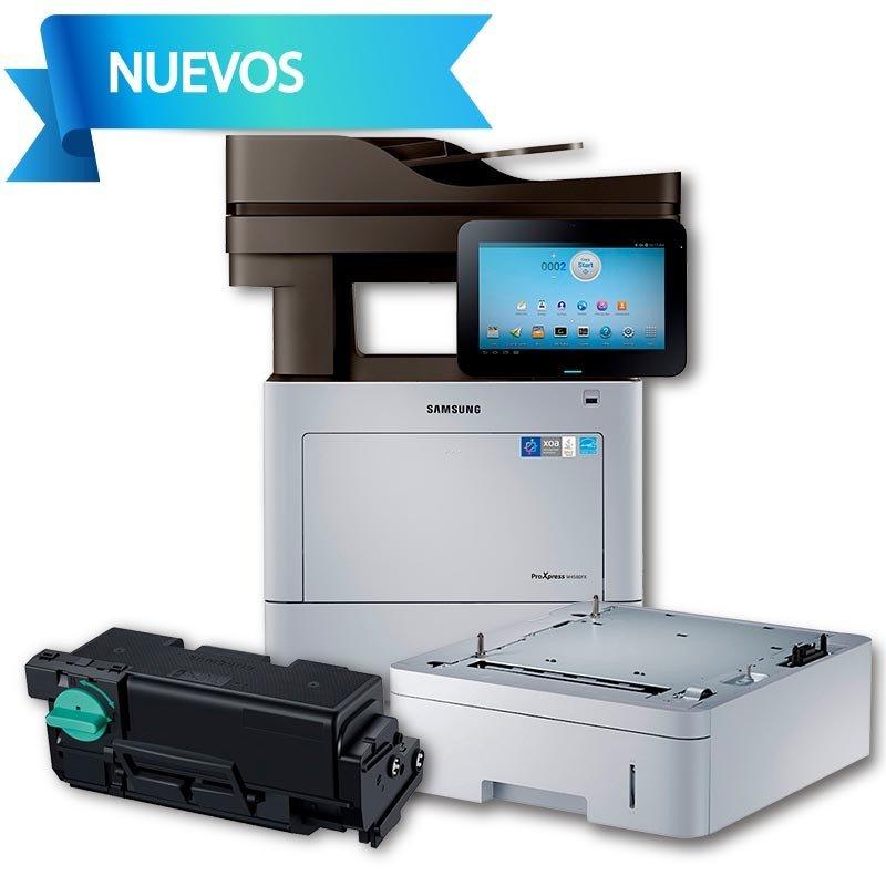 HP Samsung SL-M4580FX+Cassette De Alimentación SL-SCF4500+Cartucho De Tóner  Negro MLT-D303E 40,000 Pág:HASTA 3 MSI CON PAYPAL
