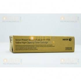 Tóner Xerox Yellow 6505_N, 6505_DN