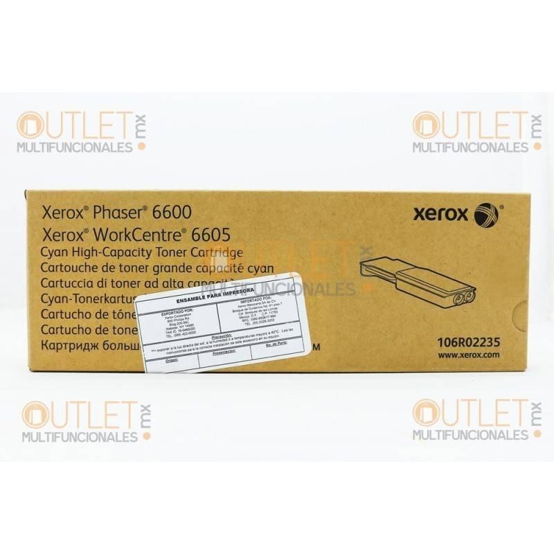 Tóner Xerox Cyan WC6655_X