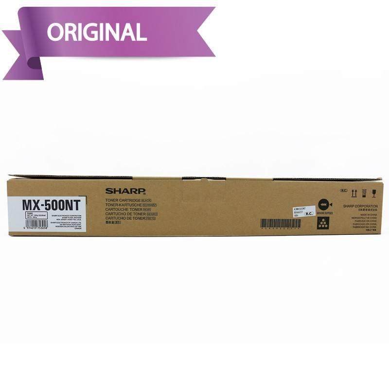 Sharp Toner MX-500NT Negro...