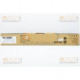 Tóner Negro MX560NT sharp rendimiento