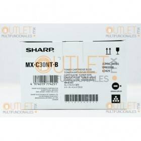 Cartucho de Toner Negro Original Sharp MXC30NTB