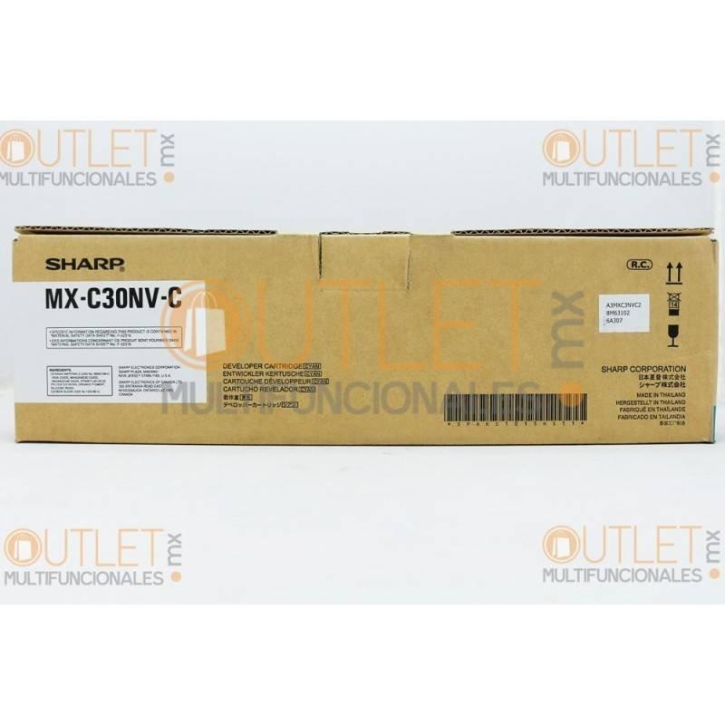 Revelador Cyan original Sharp MXC30NVC