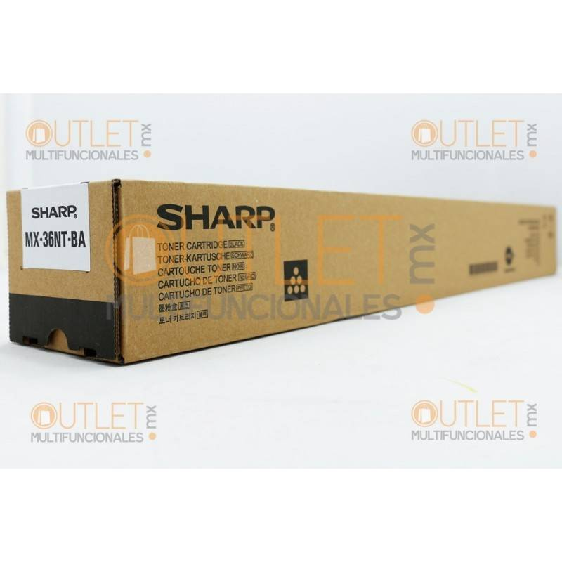 Toner Sharp MX36NTBA Negro