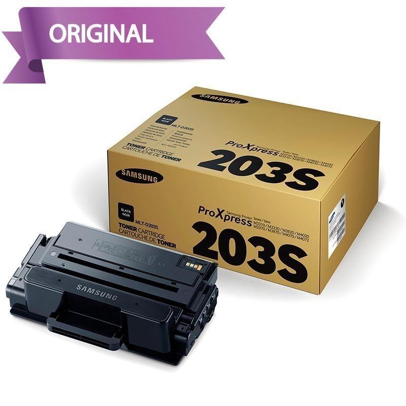 Samsung SL-M4072FD y SL-M4020ND Cartucho de Tóner Negro MLT-D203E