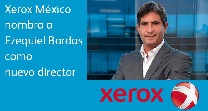 Ezequiel Bardas tomará la batuta de Xerox en México