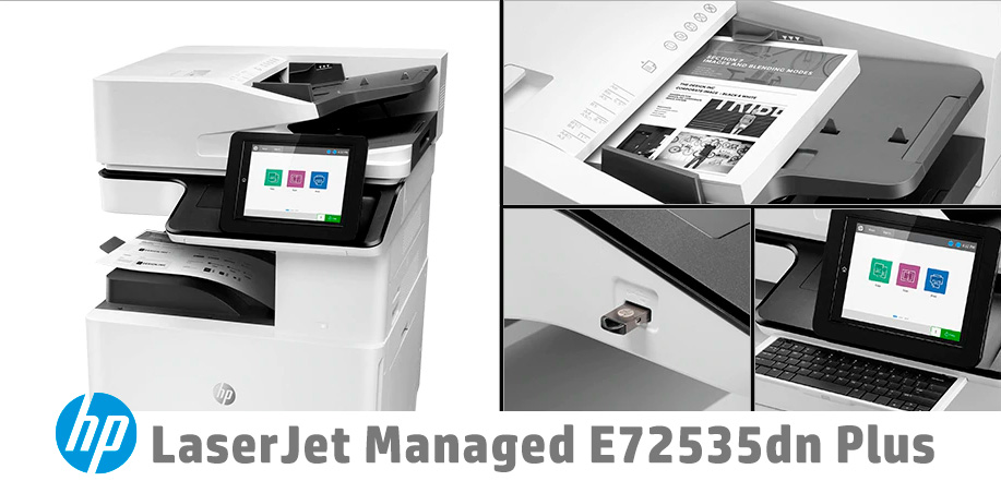 HP LaserJet Managed E72525, E72530 y E72535