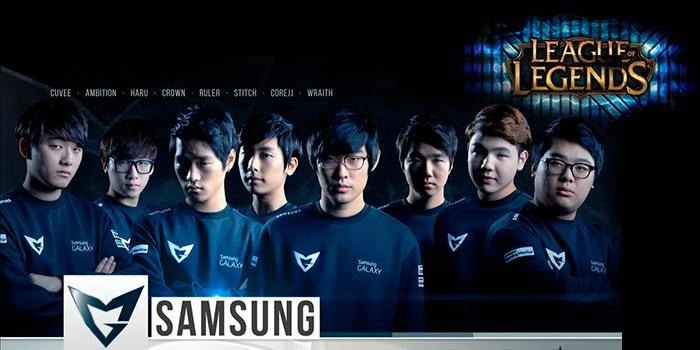 samsung galaxy team league of legends